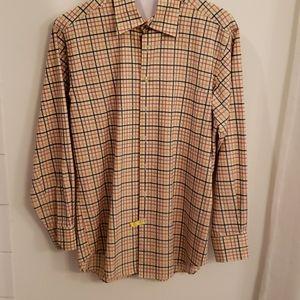 Scott Barbour Hidden Button-down Shirt Size M